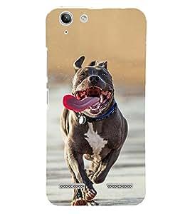 Running Dog 3D Hard Polycarbonate Designer Back Case Cover for Lenovo Vibe K5 Plus :: Lenovo Vibe K5 Plus A6020a46 :: Lenovo Vibe K5 Plus Lemon 3