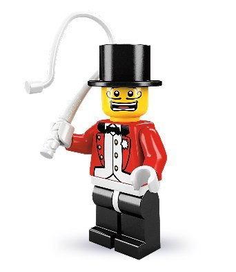 LEGO Collectable Minifigures: Circus Ringmaster Minifigure (Series 2) (Bagged) - 1