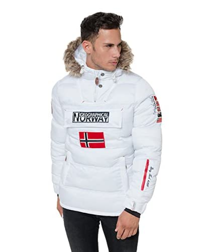 Geographical Norway Chaqueta Guateada Baba Blanco