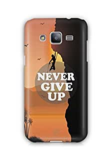 YuBingo Never Give Up Mobile Case Back Cover for Samsung Galaxy J2