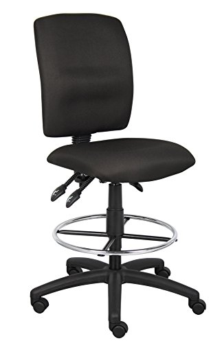 Boss Multi-Function Fabric Drafting Stool Without Arms