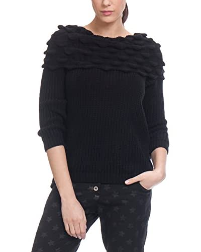 Tantra Pullover Boat Neck With Wave Detail ecru