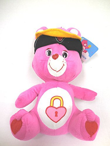 Care Bears Secret Bear Pink with Sun Glasses and Visor 12 inches Large Bear