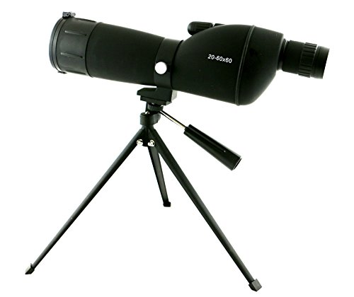 New 20-60x60 mm Colorado Spotting Scope with Case Tripod Flip Cover