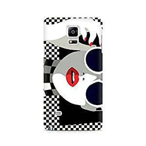 Ebby Cool Chic Premium Printed Case For Samsung Note 4 N9108