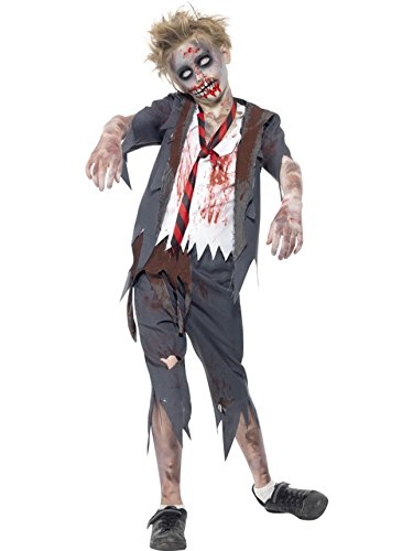 Boy's Zombie School Boy Costume