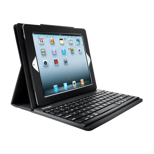 Kensington Apple iPad 2 KeyFolio Pro Performance Case with wireless Bluetooth keyboard for Apple iPad 2 3G Tablet, WIFI Model, 16GB, 32GB, 64GB with different adjustable angles