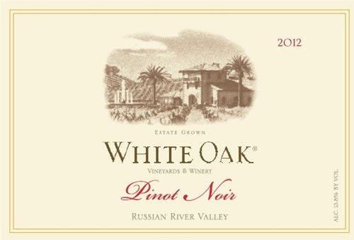 2012 White Oak Russian River Valley Pinot Noir