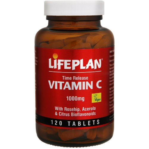 Lifeplan Vitamin C Time Release 1000mg 120 Tablets
