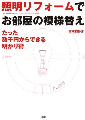 照明リフォームでお部屋の模様替え―たった数千円からできる明かり術