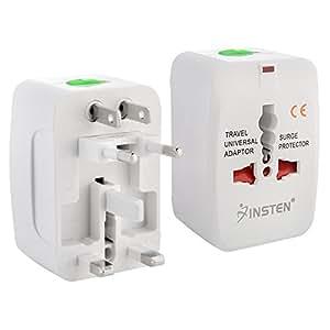 Insten Worldwide Universal Travel Wall Charger Adapter Plug