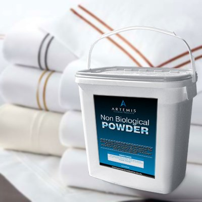 Non-Biological Laundry Powder - 10kg Tub of Clothes Washing Powder