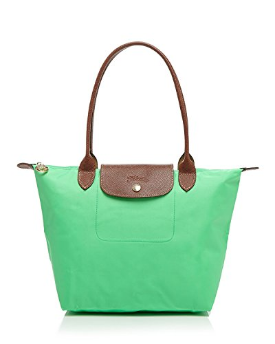 Longchamp discount duty free Longchamp Medium Shoulder Tote - Le Pliage - Green