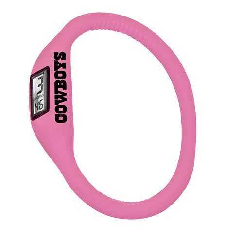 Dallas Cowboys NFL Tube Series Watch(Pink) at Amazon.com