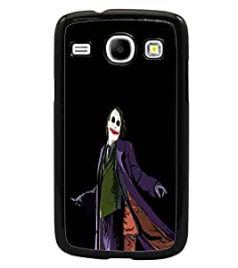 PrintDhaba Joker D-3304 Back Case Cover for SAMSUNG GALAXY CORE i8262 (Multi-Coloured)