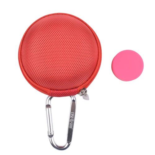 Earbuds pink - pink zipper earbuds