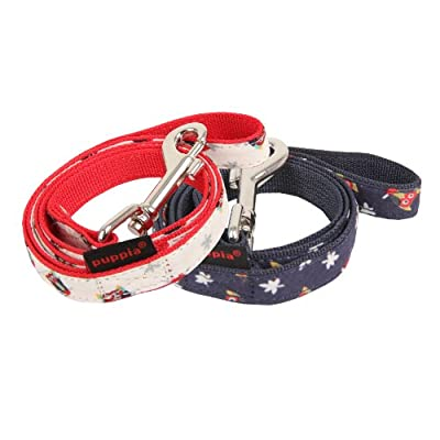 Puppia Owlet Leashes - Sizes Med & Large - Perfect Match for Puppia Owlet Harnesses