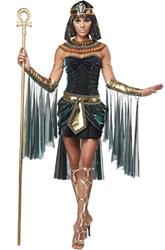 [8eighteen Sexy Egyptian Goddess Princess Cleopatra Adult Costume] (Spartan Princess Costumes)