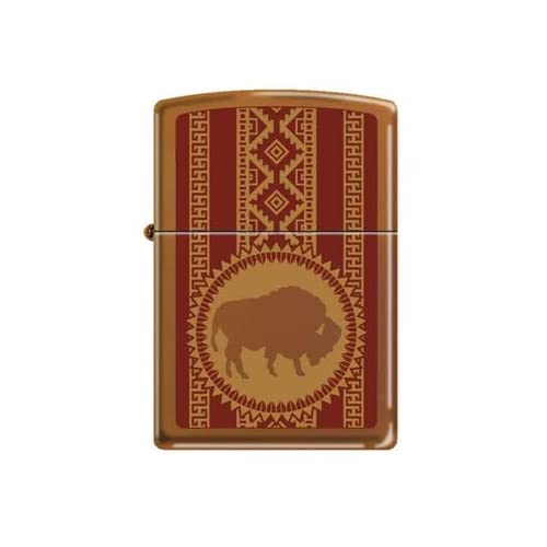 Amazon.com: Zippo Custom Lighter - Native American Buffalo
