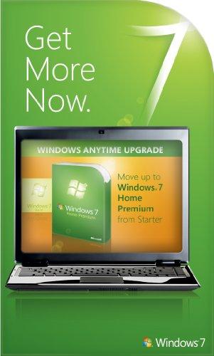 Microsoft Windows 7 Anytime Upgrade (Starter to Home Premium) [Online Code]