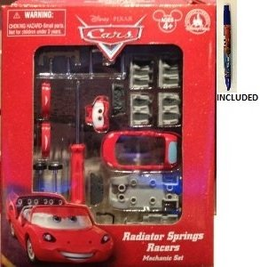 Disney Parks Cars Radiator Springs Racers Mechanic Set - Disney Parks Exclusive & Limited Availability