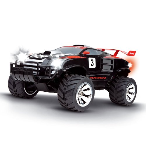 Imagen 1 de Carrera RC - Racing Machine 4 x 4, coche con radiocontrol, escala 1:12, color negro (Carrera 120008)