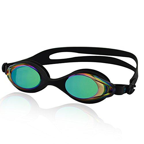 »Barracuda« Schwimmbrille, 100% UV-Schutz + Antibeschlag. Starkes Silikonband + stabile Box. TOP-MARKEN-QUALITÄT! Große Farbauswahl.