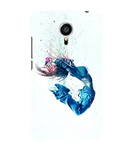 printtech Cool Dance girl Back Case Cover for Meizu MX5::Meizu Mx 5