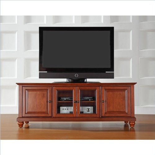 Crosley Furniture Cambridge 60-Inch Low Profiletv Stand, Classic Cherry