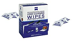 Zeiss Pre-Moistened Lens Cleaning Wipes - Cleans Bacteria, Germs and without Streaks for Eyeglasses and Sunglasses - (20 Count)