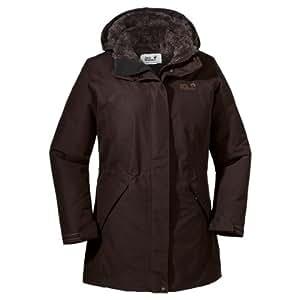 Jack Wolfskin Damen Mantel 5th Avenue Coat, Truffle Brown, XS, 12198-5115001
