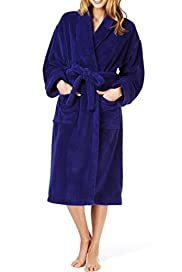 Shawl Collar Cosy Dressing Gown [T37-2600-S]