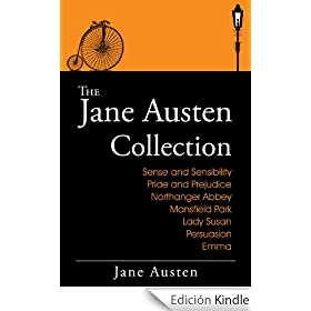 The Jane Austen Collection: The Complete Works (Includes Sense and Sensibility, Pride and Prejudice, Mansfield Park, Emma, Northanger Abbey, Persuasion, ... & more. Plus Audiobooks) (English Edition)