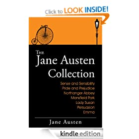 The Jane Austen Collection: The Complete Works (Includes Sense and Sensibility, Pride and Prejudice, Mansfield Park, Emma, Northanger Abbey, Persuasion, Lady Susan &amp; more. Plus Audiobooks)