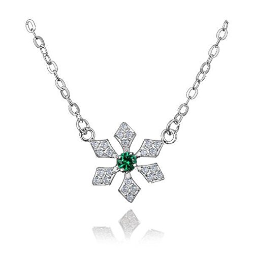 amberma-the-magical-winter-frozen-snowflake-charm-pendant-necklace-sterling-silver-whitegreen-cubic-