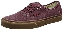 Vans Unisex Authentic (Washed Canvas) PrtRyle/Gm Skate Shoe 11 Men US