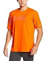 Asics Camiseta Manga Corta Graphic (Naranja)