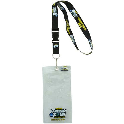 NCAA 2011 Men's Ice Hockey Frozen Four Ticket Lanyard with Collectible Pin