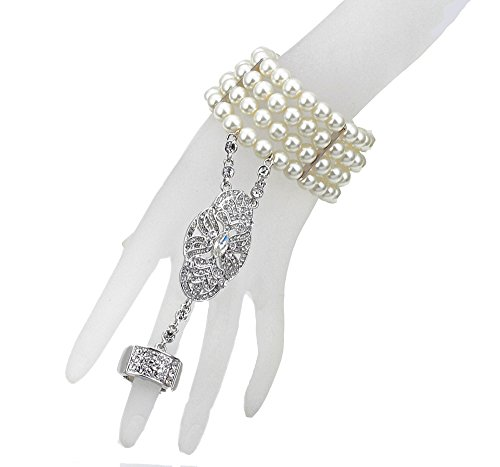 Babeyond-Bling-Silver-Tone-The-Great-Gatsby-Inspired-Leaf-Simulated-Pearl-Hair-Tiara-and-Bracelet-Adjustable-Ring-Set