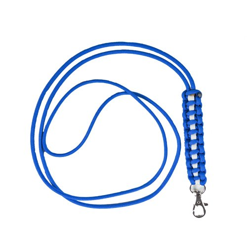 Paracord Survival Lanyard Neck Strap for Keys, Badges & IDs, MP3s, iPhone, Whistle, USB drives, etc.