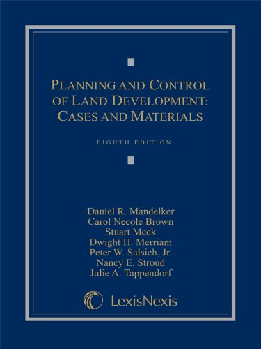 Planning and Control of Land Development: Cases and...