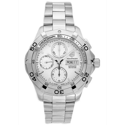 TAG Heuer Men's CAF2011.BA0815 Aquaracer Automatic Chronograph Stainless Steel Watch