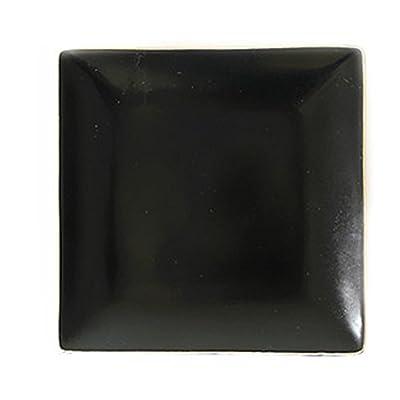 Ceramic Four Square Dinner Plate