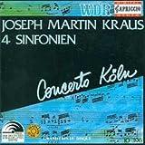 Joseph Martin Kraus: Vier Sinfonien (Sinfonien - Vol. 1)