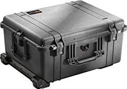 Pelican 1610 Protector Case - Black with Foam
