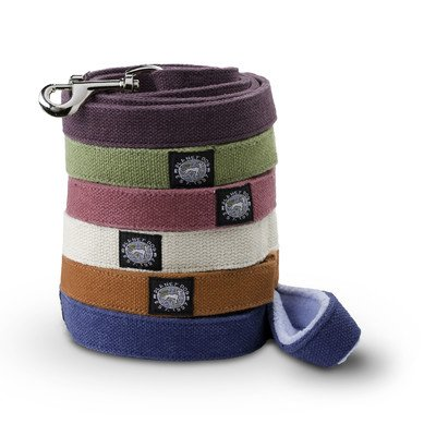 Planet Dog 5' Natural Hemp Leash with Fleece Handle