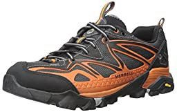 Merrell Men\'s Capra Sport Hiking Shoe, Orange, 11 M US