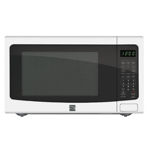 Kenmore 1.6 Cu. Ft. Countertop Microwave White 73162