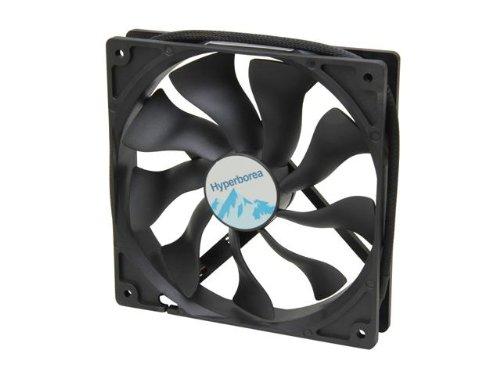 Rosewill Hyperborea 140Mm Case Fan, Black Rocf-11003