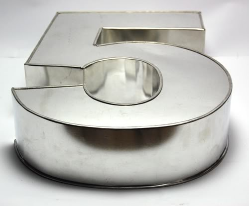 Number  Cake Pan Mold
